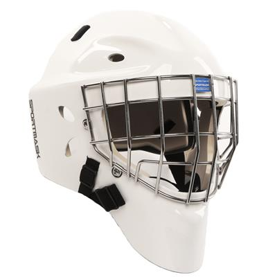 White (SportMask Sportmask X8 Certified Goal Mask)