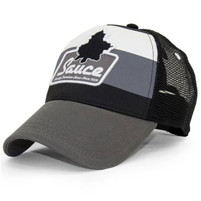 Side (Sauce Hockey Premium Grey Hat - Adult)