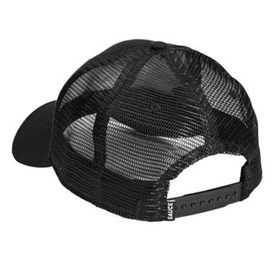 Back (Sauce Elbow Pad Toss Black Hat)