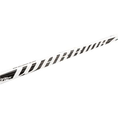 Shaft View (Warrior QRL SE Clear Composite Hockey Stick - Senior)