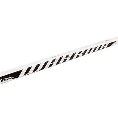 Shaft View (Warrior QRL SE Clear Composite Hockey Stick - Tyke)