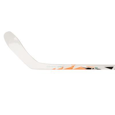 Inside Blade View (Warrior QRL SE Clear Composite Hockey Stick - Tyke)