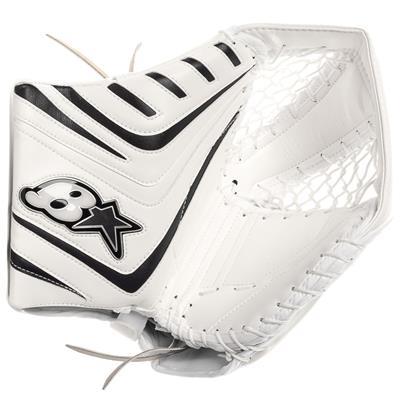 White/Black (Brians OPT1K Goalie Catch Glove)