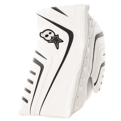 White/Navy (Brians OPT1K Goalie Blocker)