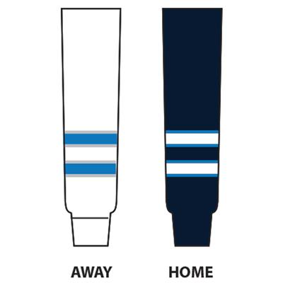 (NHL Team Hockey Socks - Winnipeg Jets - Tyke)