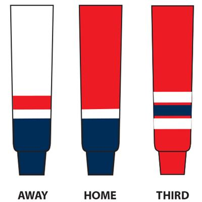 Dogree NHL Team Hockey Socks - Washington (NHL Team Hockey Socks - Washington Capitals)