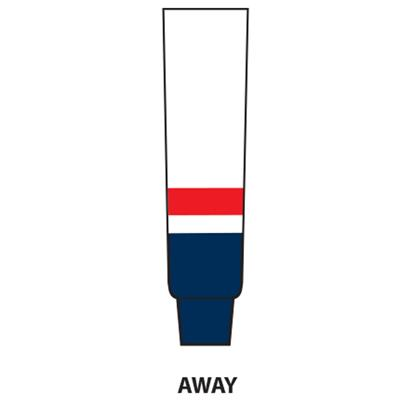 Away (NHL Team Hockey Socks - Washington Capitals)