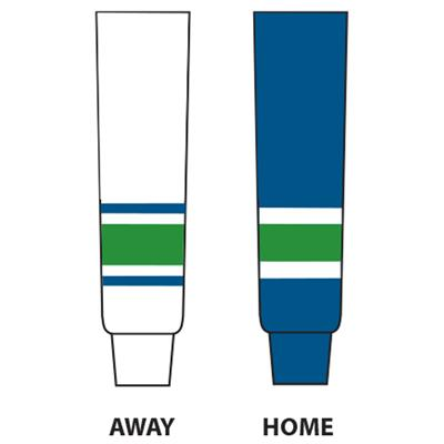 Dogree NHL Team Hockey Socks - Vancouver (NHL Team Hockey Socks - Vancouver Canucks)