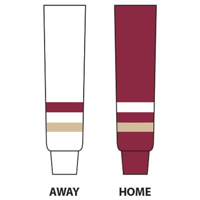 Dogree College Hockey Socks - BC (Boston College Sock)