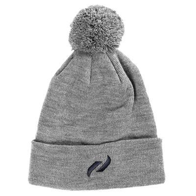 Grey (Pure Hockey Classic Pom Knit Hat - Grey)
