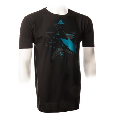 Black (Adidas Sharks ShearSpeed SS Tee)
