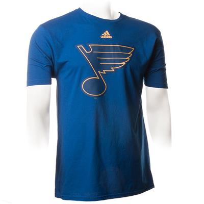 Blue (Adidas Blues ShearSpeed Short Sleeve  Tee)