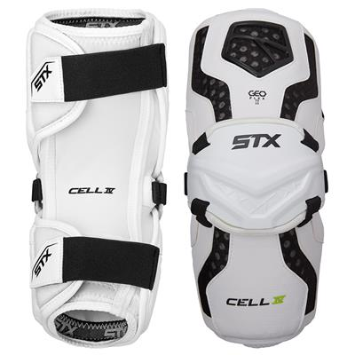 White (STX Cell IV Arm Guards)