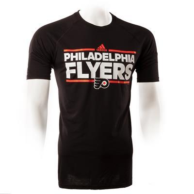 Philadelphia Flyers (Adidas Philadelphia Flyers Dassler Short Sleeve Tee - Mens)