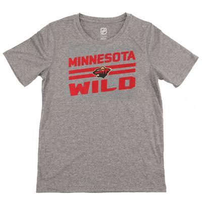 Minnesota Wild (Wild Iced Through Performance Short Sleeve Tee)