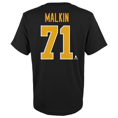 Malkin (Adidas Penguins Maklin Short Sleeve Tee - Youth)