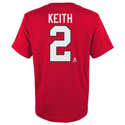 Keith (Adidas Blackhawks Keith Short Sleeve Tee - Mens)