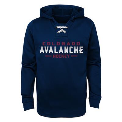 Colorado Avalanche (Avalanche Basic Poly Hockey Hoody)