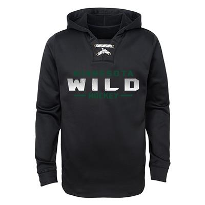 Minnesota Wild (Wild Basic Poly Hockey Hoody)