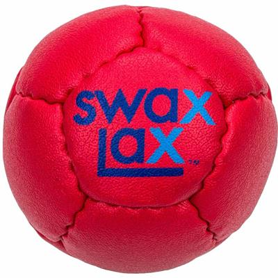 Red (Swax Lax Soft Lacrosse Practice Ball)