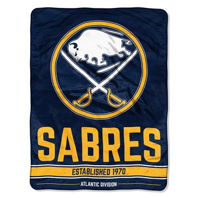 "Sabres (Northwest Company NHL Micro Raschel Throw Blanket - 46"" x 60"")"