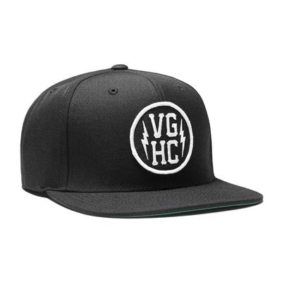 Stacked Snapback Black (Violent Gentlemen Stacked Snapback Black)