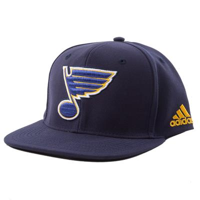 St. Louis Blues (Adidas Flat Brim Snapbacks Cap)