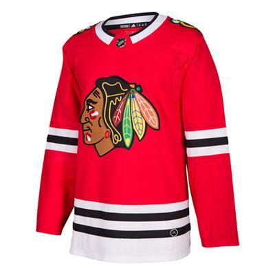 Front (Adidas NHL Chicago Blackhawks Authentic Jersey - Adult)