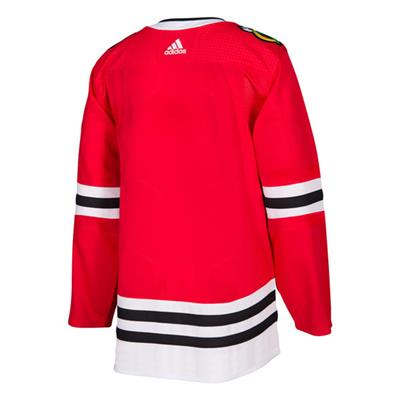 Back (Adidas NHL Chicago Blackhawks Authentic Jersey - Adult)