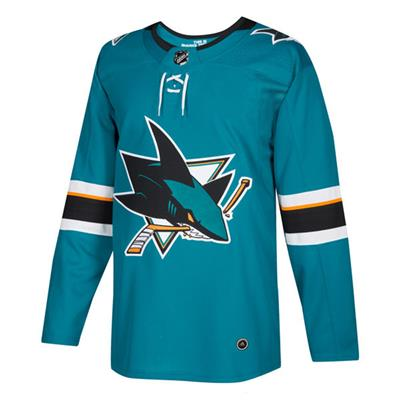 Front (Adidas NHL San Jose Sharks Authentic Jersey - Adult)
