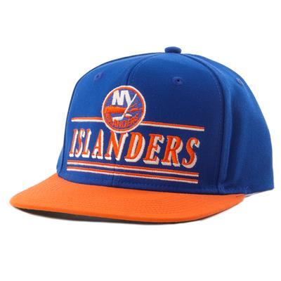 New York Islanders (CCM Flat Brim Snapback New York Islanders Cap)