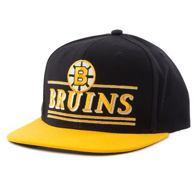 Boston Bruins (CCM Flat Brim Snapback Boston Bruins Cap)