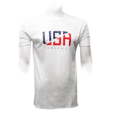 White (Pure Hockey All American Tee - White)