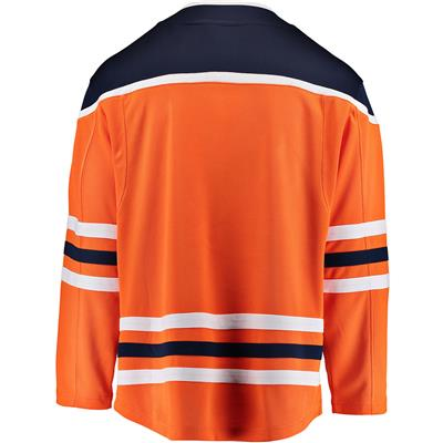 Home Back (Fanatics Edmonton Oilers Replica Jersey - Adult)