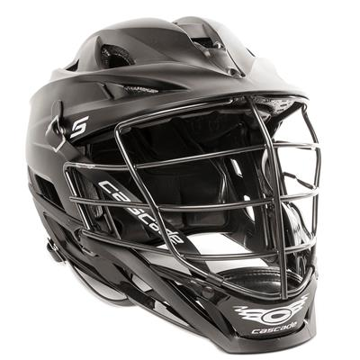 Matte Black (Cascade S Helmet Matte Shell w/ Tungsten Steel Cage)