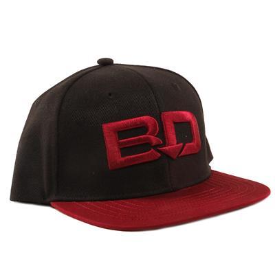 Black (BarDown Shootout Flat Brim - Adult)