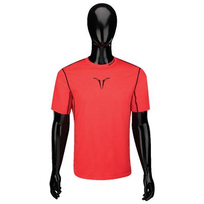 Front (Bauer Core Short Sleeve Hybrid Top)