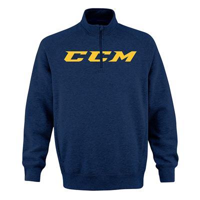 Pro College Blue (CCM Ivy 1/4 Zip Fleece - Pro College Blue - Adult)
