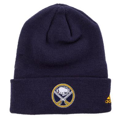 Buffalo Sabres (Adidas Cuffed Knit Buffalo Sabres Hat)