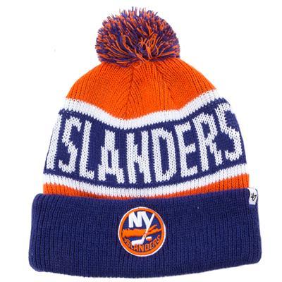 New York Islanders (47 Brand New York Islanders - Calgary Knit Hat)