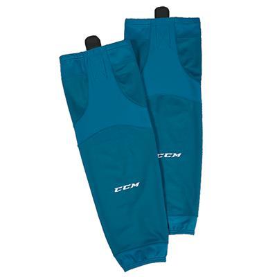 Turquoise (CCM SX6000 Practice Sock - Senior)