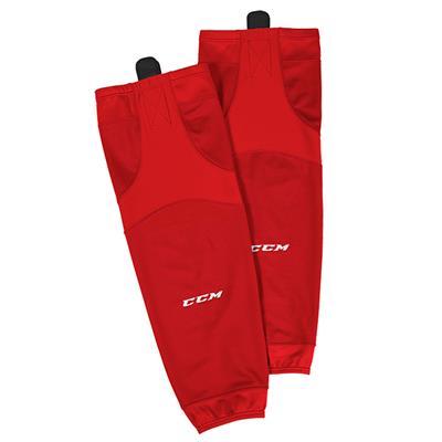 Red (CCM SX6000 Practice Sock - Junior)