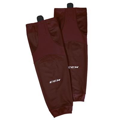 Maroon (CCM SX6000 Practice Sock)