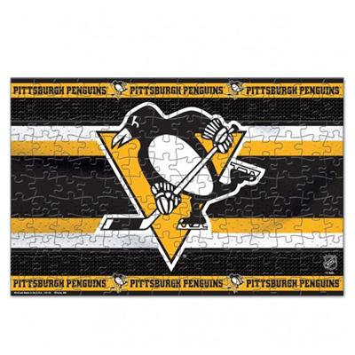150 Pc Puzzle - Penguins (Wincraft Wincraft NHL 150 Piece Puzzle - Pittsburgh Penguins)