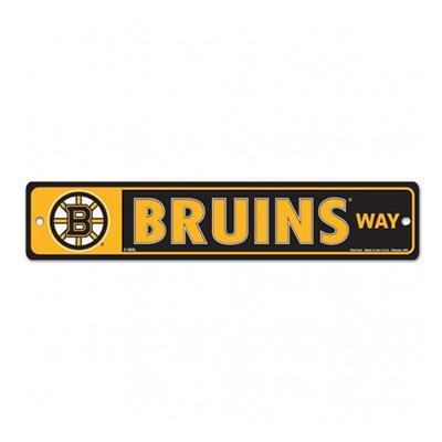 NHL Street Sign Bruins (Wincraft Boston Bruins Street Sign)