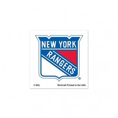 NHL 4PK Tattoo Rangers (Wincraft New York Rangers Tattoo - 4 Pack)