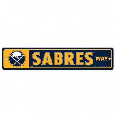 NHL Street Sign Sabres (Wincraft Buffalo Sabres Street Sign)
