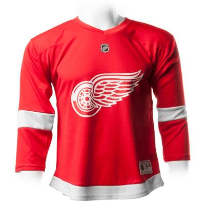 Home/Dark (Adidas Detroit Red Wings Replica Jersey - Youth)