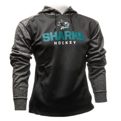 San Jose Sharks (Fanatics San Jose Sharks Static Fleece Hoody)