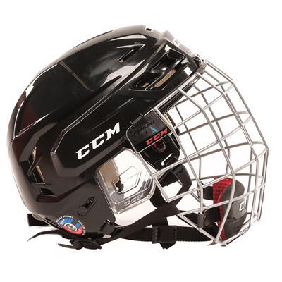 Side View (CCM Tacks 110 Hockey Helmet Combo)